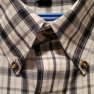 Denver Hayes Button Down Plaid Shirt